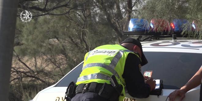 """נרשמו למעלה מ-200 דו""""חות במבצע אכיפה בכביש 232 בדרום"""