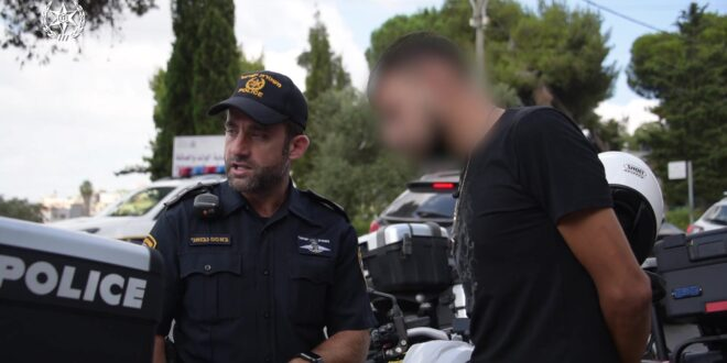 צפו: כוחות משטרה במבצע אכיפה רחב היקף בנצרת והסביבה