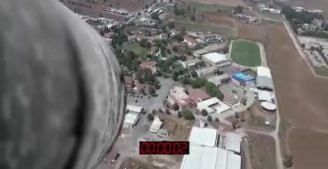 """צפו: כך ייראה ירי טיל מיו""""ש לעבר עפולה"""