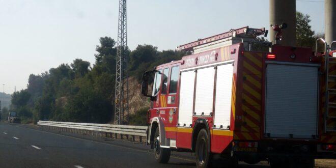 224 אזרחים חולצו משריפות ותאונות דרכים ברחבי הארץ במהלך יום הכיפורים