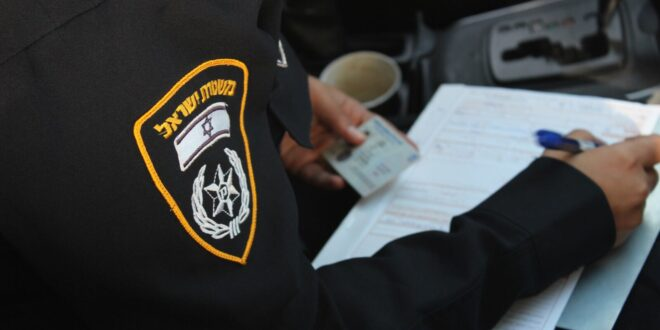 תושבת באר שבע נתפסה נוהגת ללא רישיון נגד כיוון התנועה