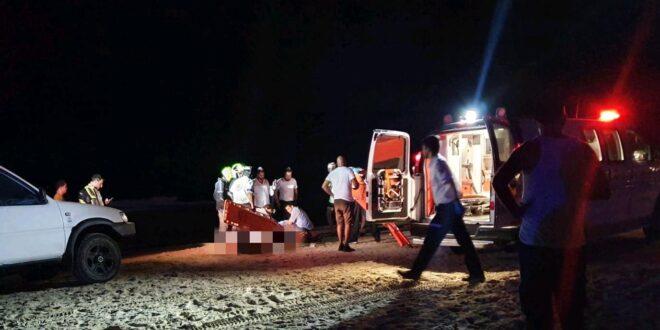 בן 35 טבע בחוף סי פאלאס בבת ים, מצבו קשה