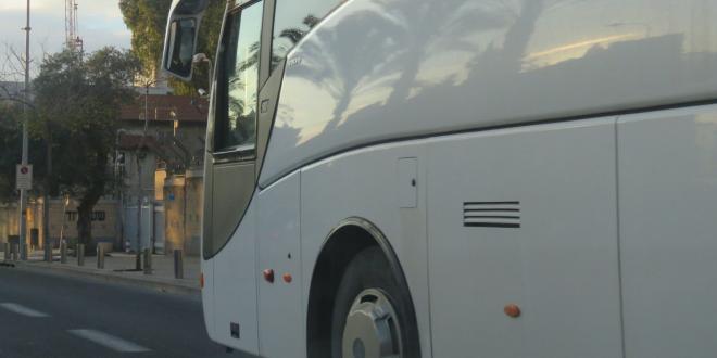 תושב אלעד נעצר בחשד לתקיפת נהג אוטובוס