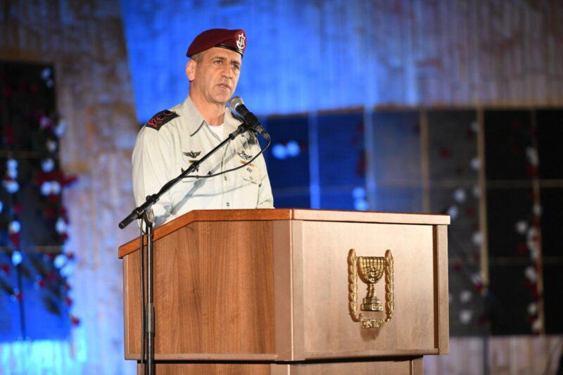 """הרמטכ""""ל בעצרת המודיעין: """"החזון של מדינת ישראל הוא להעצים ולהעשיר את הנגב"""""""