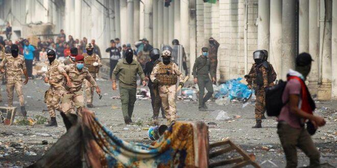 עיראק: הרוג ו-12 פצועים בעימותים עם כוחות הביטחון במרכז בגדאד