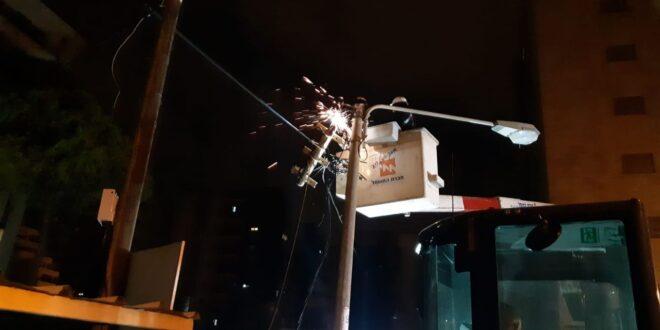 """הפסקות חשמל ברחבי הארץ, """"האספקה הסדירה תחודש תוך כרבע שעה"""""""