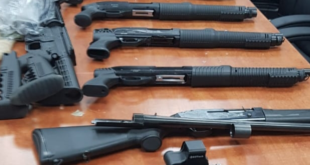 בתום פעילות סמויה סוכלה הברחה של 12 כלי נשק ארוכים באזור הגבול המזרחי,...