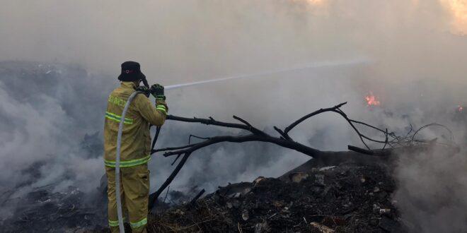 השריפה בשלומי: טרם הושגה שליטה, פעולות הכיבוי ימשכו עד הבוקר