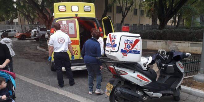 דיווח ראשוני: מספר הולכי רגל נפגעו מרכב סמוך לשוק ברמלה