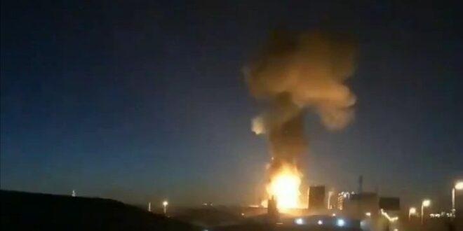 פיצוץ עז במפעל פטרוכימי הרעיד את צפון-מזרח ספרד