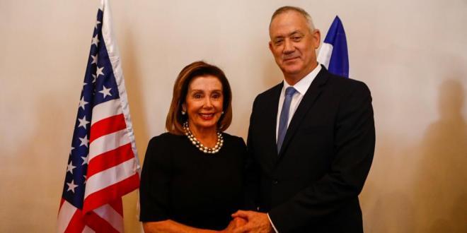 """ח""""כ בני גנץ נפגש עם יו""""ר בית הנבחרים בקונגרס האמריקאי"""