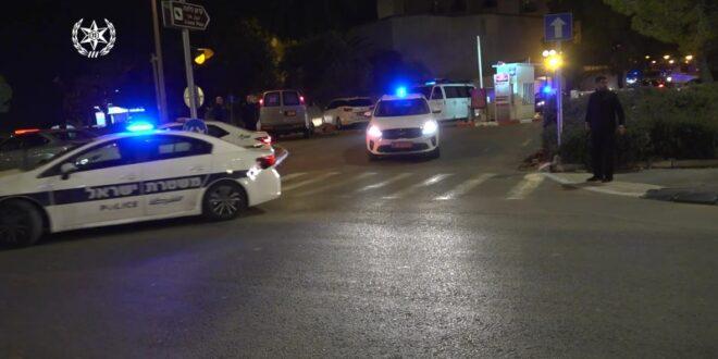 בן 40 נפצע קשה באירוע אלימות בירושלים