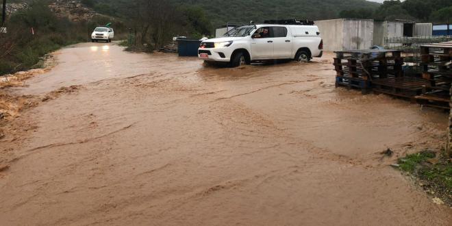 רשות הטבע והגנים: חשש לשיטפונות בנחלים במדבר יהודה ודרום הארץ