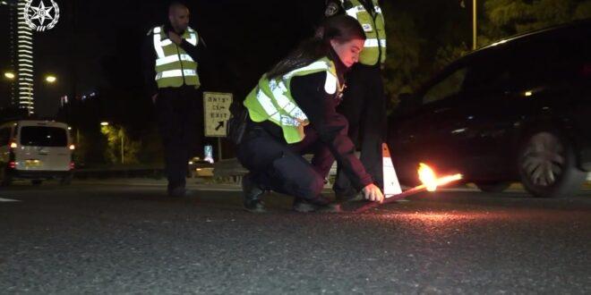כביש 412 מצומת אור יהודה לצפון נחסם לתנועה בעקבות תאונה