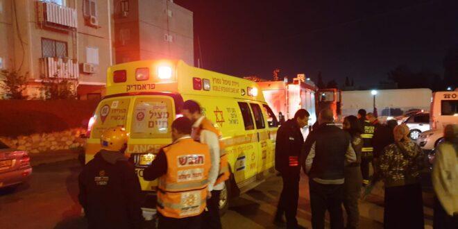 """תל אביב: אישה ו-3 ילדיה פונו לבי""""ח עם חשד להרעלת פחמן חד חמצני"""