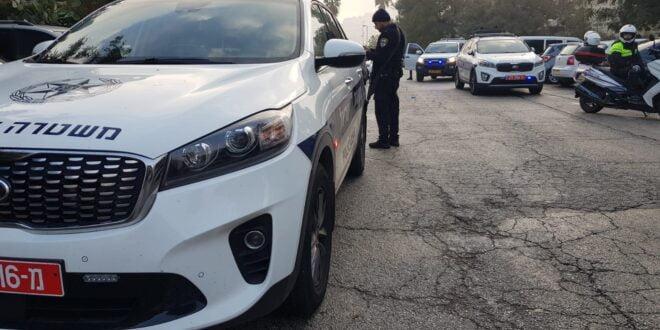 שוטרים הותקפו באבנים בתל שבע, 3 חשודים נעצרו