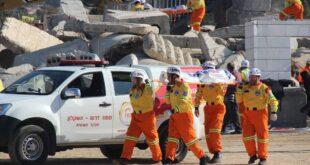 """מתנדבי זק""""א בתרגיל בינלאומי: מתן מענה והתמודדות ברעידת אדמה"""