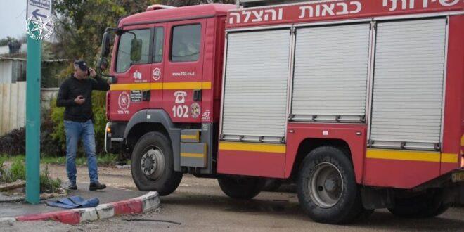 שריפה גדולה פרצה בדירה בירושלים, אם ובנה חולצו