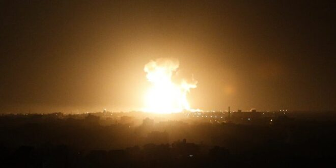 """צה""""ל תקף מטרות של צבא סוריה בדרום המדינה"""