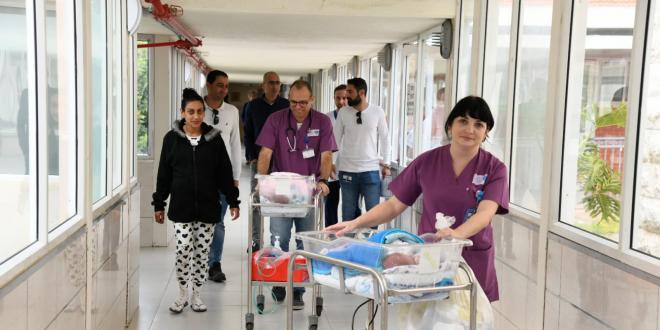 אזעקה באשקלון, הפגיה בבית החולים ברזילי הועברה למרחב מוגן