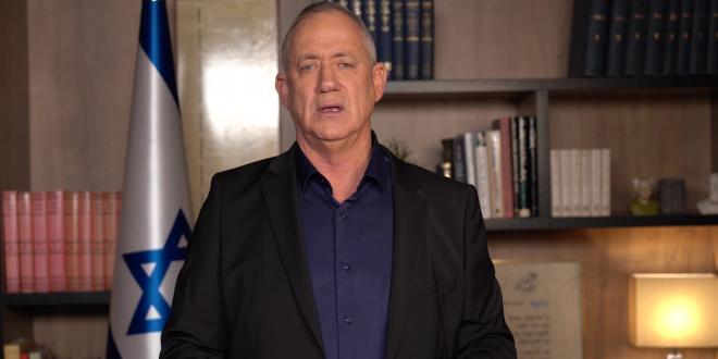 גנץ: הלילה כולנו אתכם. אף ילד בישראל לא צריך ללכת לישון מפוחד
