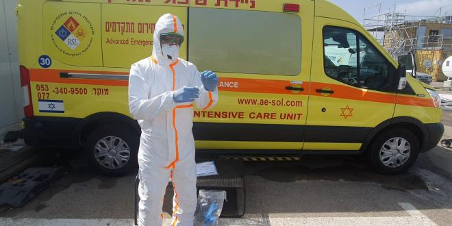 """מבצע החיסונים: מד""""א יחל לחסן בבתי האבות ברחבי הארץ"""