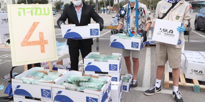 פסח בצל הקורונה: ניתן סיוע לאזרחים ותיקים ואוכלוסיות נזקקות