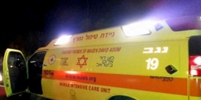 בן 16 נפל מסוס בשטח סמוך לביר הדאג' בדרום, מצבו קשה
