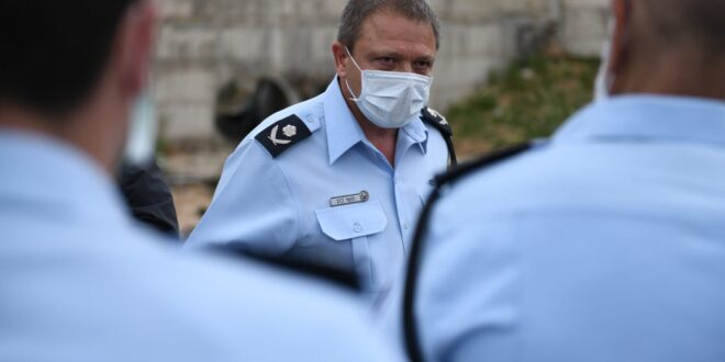 """מ""""מ מפכ""""ל המשטרה מגיב לסרטון: אני מחזק את ידי השוטרים והחיילים"""