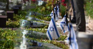 מניחים דגלונים ומצדיעים: לזכרם של 1,510 חללי משטרת ישראל