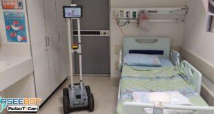 צפו: הרובוט במחלקת קורונה שיאפשר תקשורת מרחוק עם המטופלים