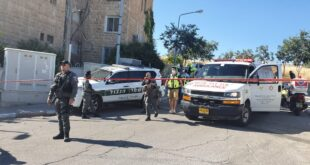 """ניסיון פיגוע בירושלים: מפגע רץ לעבר לוחמי מג""""ב הפועלים בשכונת ארמון הנ..."""