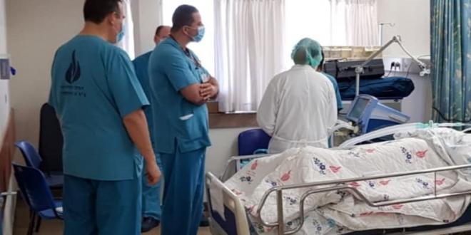 """בי""""ח וולפסון: עומסים חריגים, נרשם שיא של חולים קשים ומונשמים"""