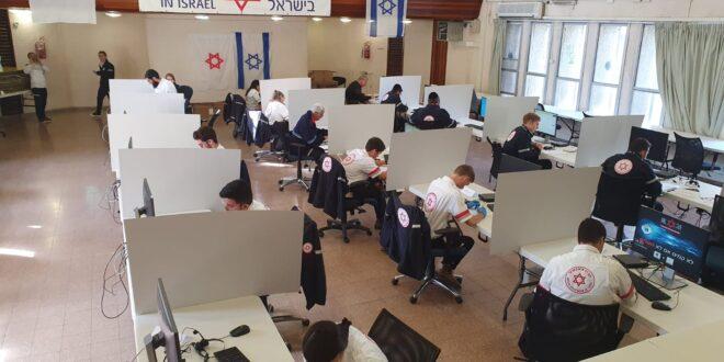 """התפשטות הקורונה בישראל: עלייה של כ-300% בפניות למוקד מד""""א"""
