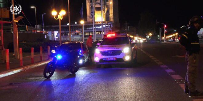 צפו: פעילות אכיפה משטרתית מוגברת בנהריה, נרשמו עשרות דוחות