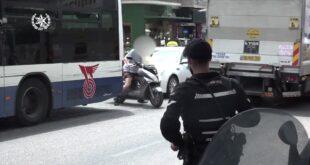 כחלק מהמאבק בתאונות הדרכים יצאו שוטרי מרחב ירקון למבצע אכיפה נרחב בכבי...