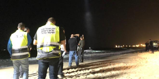 סריקות נרחבות בחוף הקשתות באשדוד אחר נער בן 14 שנעדר