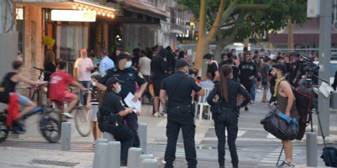 החל מהבוקר: המשטרה פתחה במבצע אכיפה ממוקד בנושא הקורונה