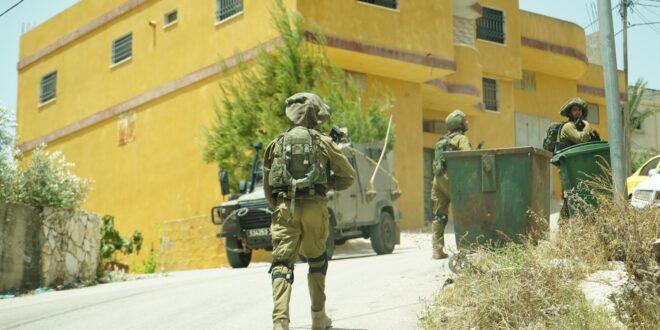 """צה""""ל: הוחלט על תגבור כוחות באזור יהודה ושומרון"""