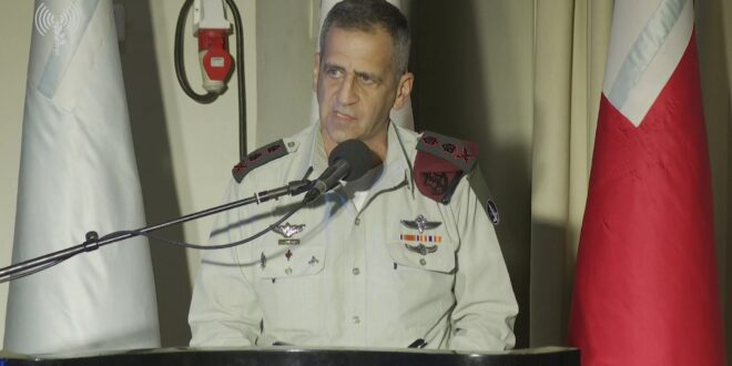 """הרמטכ""""ל: איראן מבצעת טרור ופעולות נגד מטרות אזרחיות"""