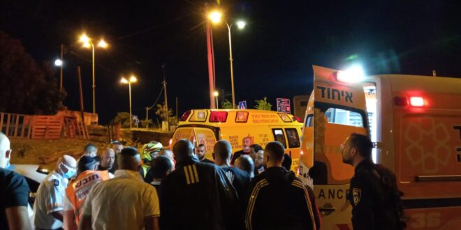 גבר נפצע באורח בינוני מירי בשכונת שועאפט בירושלים