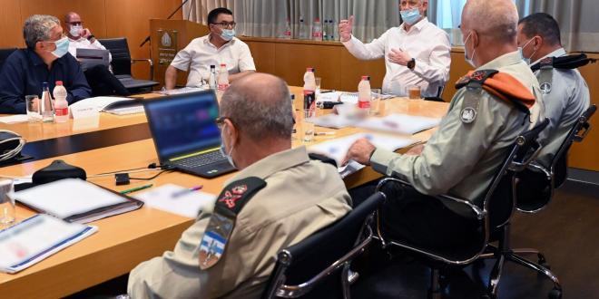 שר הביטחון הורה על גיוס של 500 אנשי מילואים נוספים