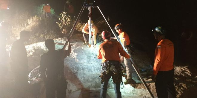 חיפושים אחר נער בן 15 שנכנס לבור מים סמוך ליישוב קדומים ונעלם