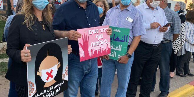 """עצרת זיכרון ומחאה נגד רצח נשים: """"האחריות על ממשלת ישראל"""""""
