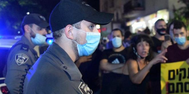 """לקראת המחאות הערב: כוחות המשטרה נפרסו סמוך למעון רה""""מ בירושלים"""