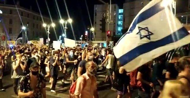 """ארגוני המחאה מודיעים: לא תתקיים הערב ההפגנה מול מעון רה""""מ"""
