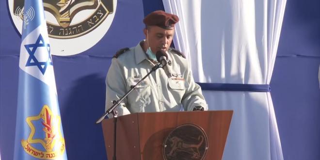 אלוף תמיר ידעי נכנס לתפקידו כמפקד פיקוד המרכז