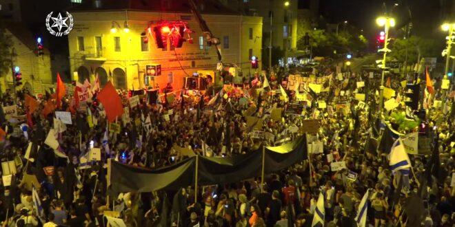 """התנועה לאיכות השלטון עתרה לבג""""ץ על הגבלת ההפגנות: """"פגיעה לא מידתית"""""""