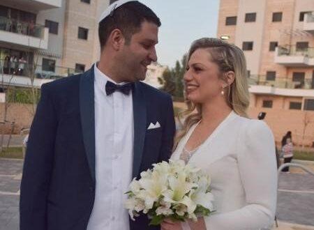 בזכות שליש גן עדן: חתונת קורנה מרגשת