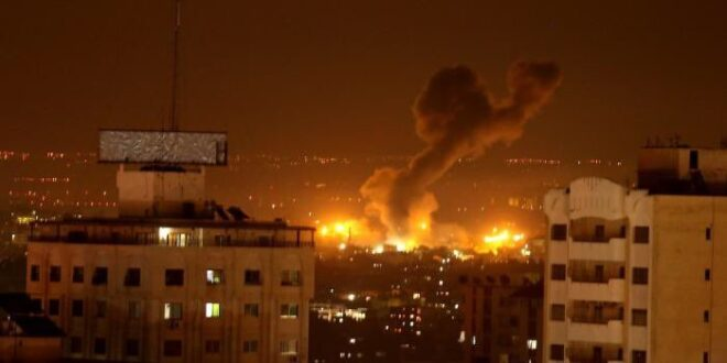 """בתגובה לירי מעזה: צה""""ל תקף יעדי טרור של חמאס"""